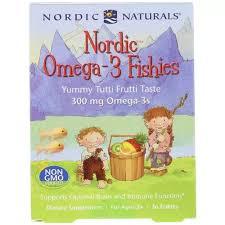 <b>Nordic</b> Naturals Children's Dha <b>Omega</b>-<b>3 Fishies</b>