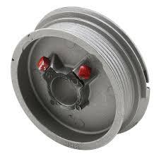 prime line right hand black torsion spring cable drum