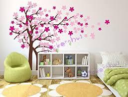 amazon com nursery cherry blossom wall decal baby nursery tree