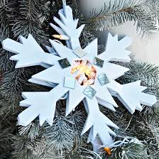 Snowflakes For Christmas Tree