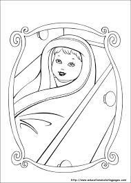 Barbies Coloring Pages How To Color Barbie Coloring Page Free
