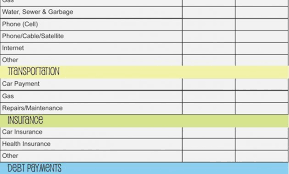 easy budget form 10 easy rules of monthly budget form form information ideas