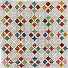 "Stained Glass Windows; A Cathedral Windows Quilt | During Quiet Time & I met my goal and finished ""Stained Glass Windows"" last night. It measures  44″ square and will be a wall hanging. I have a pocket attached to the  upper edge ... Adamdwight.com"