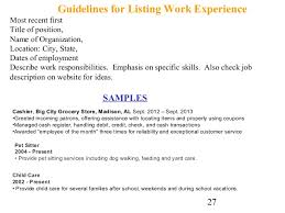 Ideas Of Cover Letter And Resume Writing For High School Students