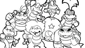 Momjunction Super Mario Coloring Pages Yoshi Online Brothers Book