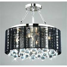 chandeliers with shades and crystals crystal drum chandelier the with regard to brilliant house chrome drum