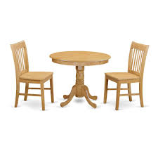 3 Pc Dining Room Set Small Kitchen Table And 2 Dining Chair Cork Chair