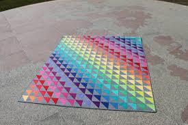 Rainbow Quilt Pattern