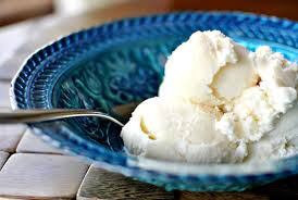 vanilla ice cream in a bowl. Vanilla Ice Cream Bowl And In Simply Scratch