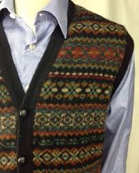 Image result for fair isle mens cardigan