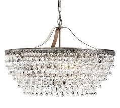 Люстра clarissa glass drop petite round chandelier