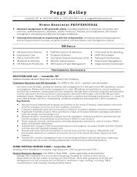 Impressive Human Resources Resume Examples Free For Hr Resume