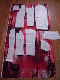 ziggi jacket lining with paper patterns