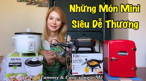 MINI SIÊU DỄ THUƠNG: Tủ Lạnh Mini Trên Xe Hơi, Chảo Điện Nhỏ Xíu, Nồi Cơm  Điện Bé Xinh Tiện Du Lịch - YouTube