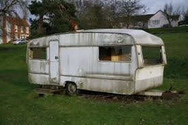 Used barefoot caravan for sale Practical Caravan Favourite This Advert Curbed Used Caravans Camping Equipment Preloved