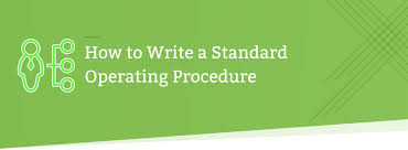 How To Prepare A Sop Format Interesting How To Write A Standard Operating Procedure [44 Easy Steps] Tallyfy