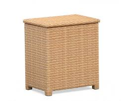 tango rattan storage box with lid