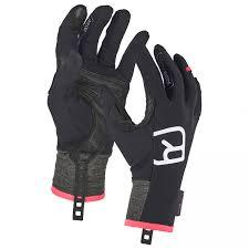 Light Gloves Ortovox Womens Tour Light Glove Gloves Black Raven S