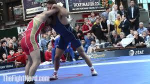 Frayer Wrestling Jared Frayer Vs Dzalaludin Kurbanalie Beat The Streets 2012 Youtube