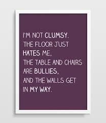funny office poster. Typographic Print Funny Office Poster Typography Clumsy People Home Children\u0027s Room Joke Wall Decor B