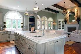 distressed and antique white finish kitchen cabinets with how to paint cream