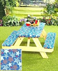 picnic table cloths vinyl picnic table cloth galaxy vinyl fitted round picnic table cover and bench picnic table cloths