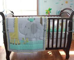 crib bedding elephants elephant giraffe baby bedding set cot crib bedding set for girls boys includes crib bedding elephants