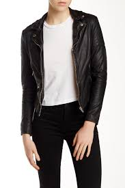 muubaa presley leather biker jacket nordstrom rack