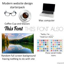 Design Starter Kit Modern Web Design Starterpack Starterpacks