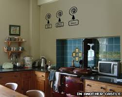 Edwardian Kitchen Downton Abbey Servants Bell Decal Edwardian Decor Funny