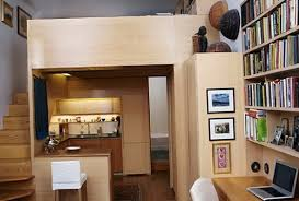 Tiny new york apartments Cute With Homeideasmagcom The Tiny New York Apartment With An Unusual Library Ideas For Home