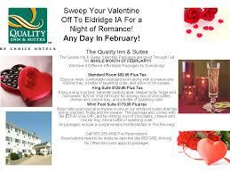 valentine day hotel specials travel quad cities valentines day 2016 davenport iowa hotel packages fine