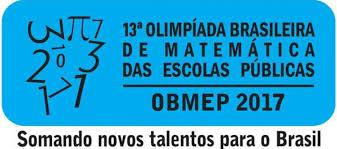 Resultado de imagem para OBMEP: 13ª OLIMPÍADA DE MATEMÁTICA TERÁ NOVAS PROVAS EM 16 DE SETEMBRO