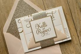 blush and gold glitter elegant wedding invitations elegant wedding Luxury Elegant Wedding Invitations blush and gold glitter elegant wedding invitations elegant wedding invitations formal letter with beauty cute triple layer luxury invitation Elegant Wedding Invitations with Crystals