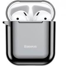<b>Чехол Baseus Shining Hook</b> Case для Apple AirPods 1/2 Черный ...