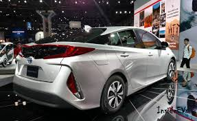 2017 Toyota Prius Prime (Plug-In) Debuts: 25 Miles Range, 133 MPGe ...