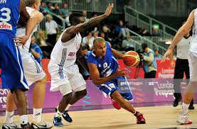 Tony Parker of France vies with Ogo Adegboye of Great Britain during...  News Photo - Getty Images