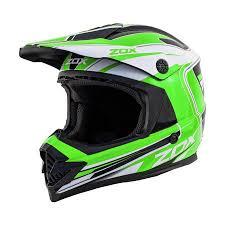 Zox Rush Lucid Junior Youth Street Motocross Dirt Off Road Motorcycle Helmet Green Walmart Canada