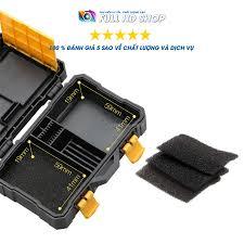 Hộp đựng thẻ nhớ - Chống nước , chống va đập - Bảo vệ thẻ nhớ và pin máy ảnh  tuyệt đối - Full HD Shop