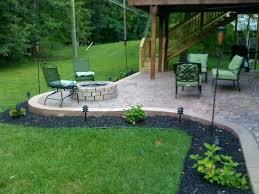 concrete patio with fire pit. Brilliant Pit Stamped Concrete Patio With Fire Pit  Cost  And Concrete Patio With Fire Pit I