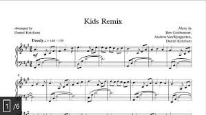 sheet music for kids kids remix sheet music download poems of notes