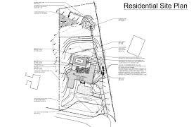 residential plot plan example
