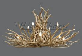high thorn twig disk chandeliers handmade