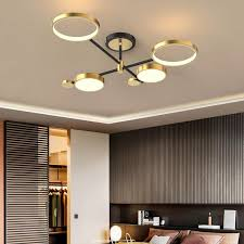 nordic style semi flush mount ceiling