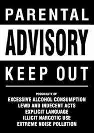 Nice Funny Bedroom Door Signs | Keep Out Parental Advisory