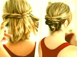 Hairstyles Step By Step Cheveux Court Coiffure Mariage Pour