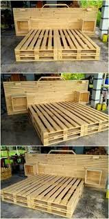 furniture made of pallets. Very Beautiful Pallet Wooden Bed Made By Azizu Furniture Of Pallets
