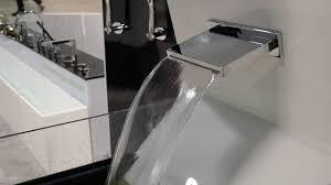 isenberg faucets cfb 2250 cascade flow waterfall tub filler high flow rate sheet flow