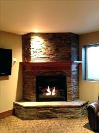corner fireplace gas attractive inspiration ideas basement best images on small ventless lp