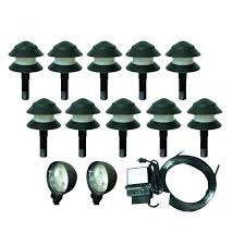 low voltage led pathway lighting kits path sets garden lights outdoor